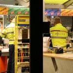 Weer een supermarkt de klos
