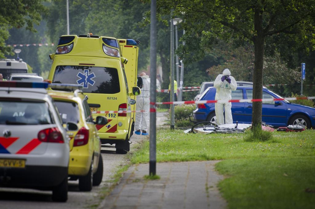 Jan Elzinga werd op tien juli letterlijk van zijn fiets geschoten