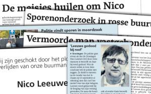 Leeuwe in Dagblad van het Noorden