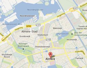 Uit in Almere, gevonden in de Noorderplassen
