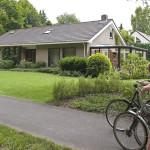 Het huis van het echtpaar Veenendaal