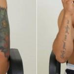 De tattoo's van H. werden op Opsporing Verzocht getoond