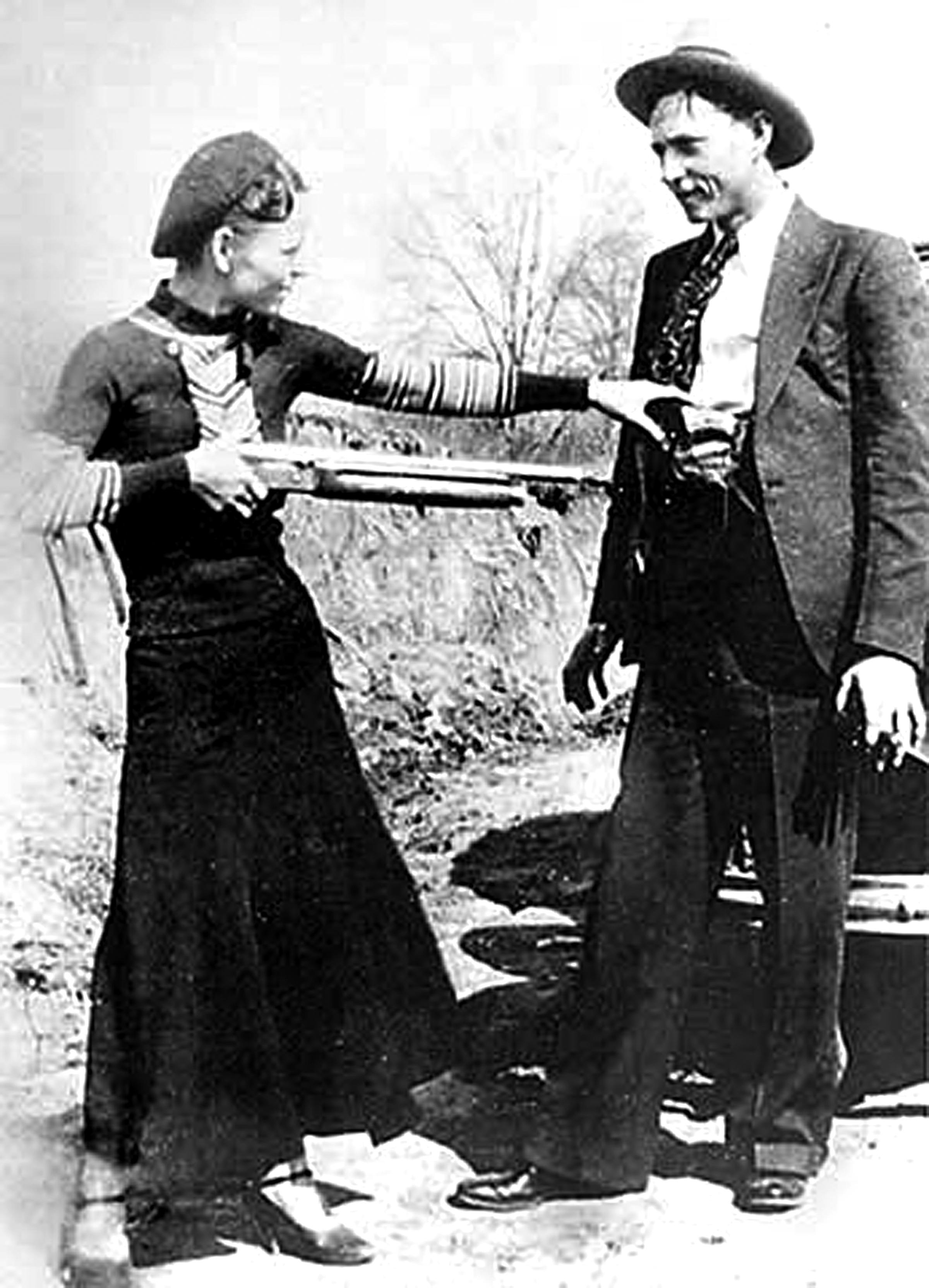 De 'real' Bonnie & Clyde