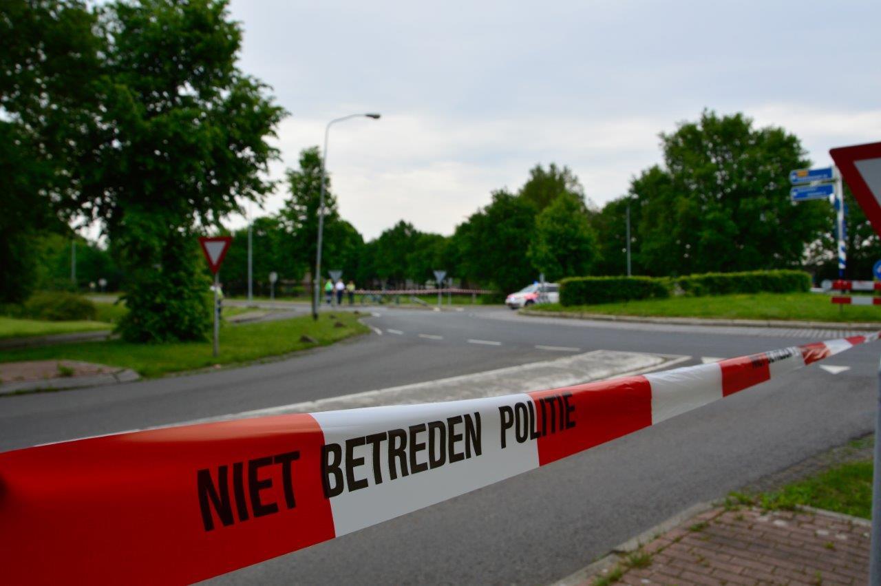 Blokkade bij Gasselte
