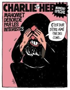 Cartoon van Hebdo
