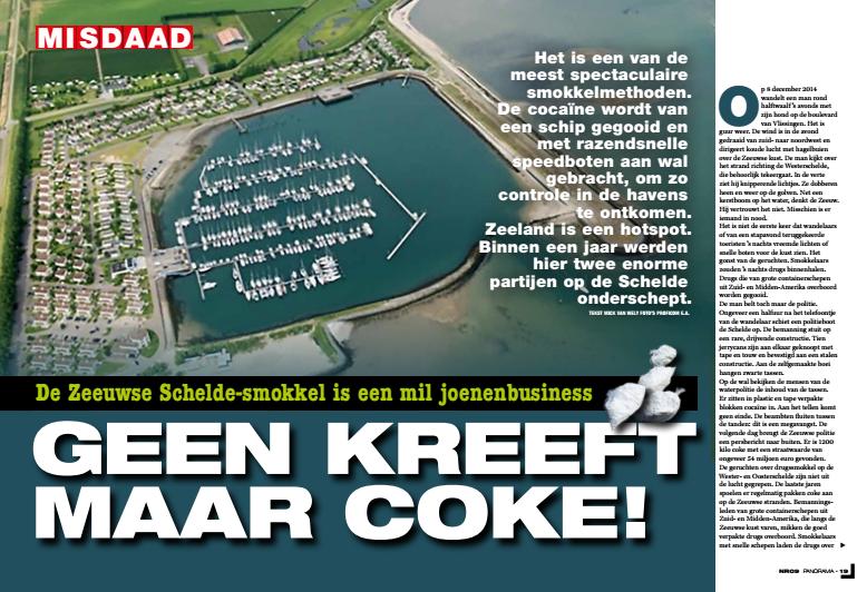 Coke op de Schelde